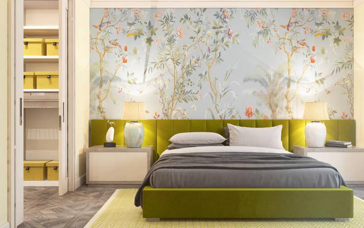 Bedroom by ZIKZAK architects