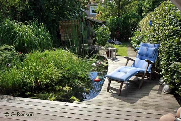 Sommer Sonne Holzdeck Wasser - Erholung pur:  Garten von dirlenbach - garten mit stil