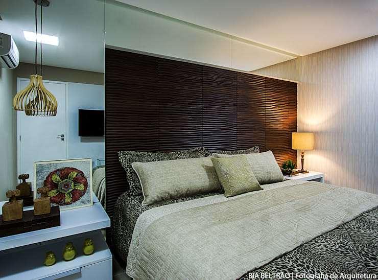 Bedroom by Cris Nunes Arquiteta