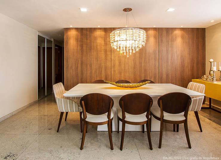 غرفة السفرة تنفيذ Cris Nunes Arquiteta