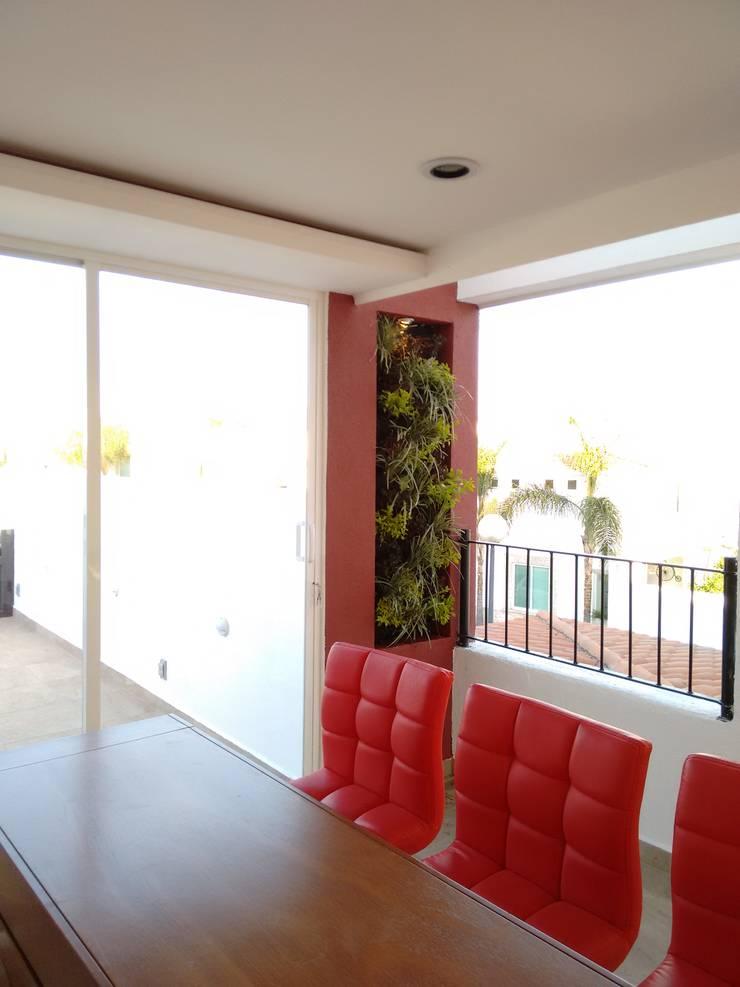 Balcon, Veranda & Terrasse modernes par Arqca Moderne