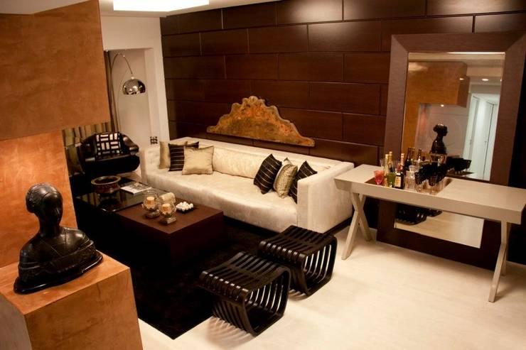 Гостиная в . Автор – Cris Nunes Arquiteta