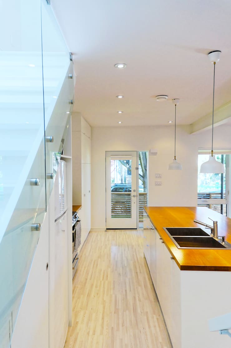 Our House:  Kitchen by Solares Architecture