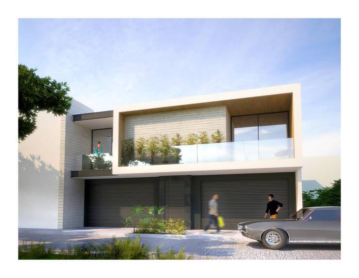 Departamentos Valencia: Casas de estilo  por DAR Arquitectos