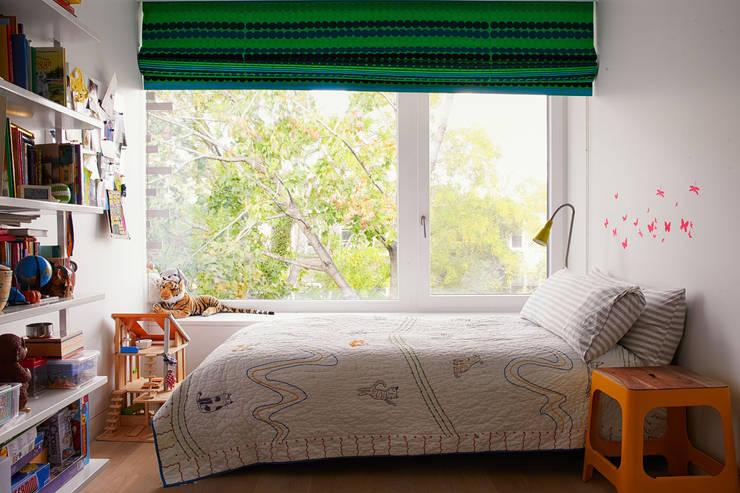 Passive in Park Slope: modern Nursery/kid's room by Sarah Jefferys Design