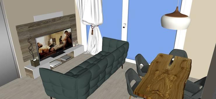 de estilo  por T_C_Interior_Design___, Moderno