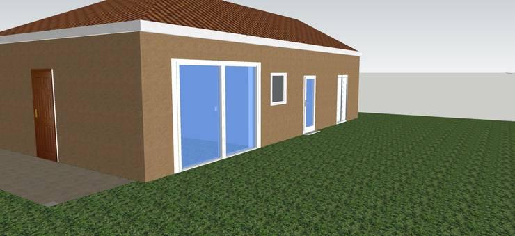 Casas de estilo  por T_C_Interior_Design___, Moderno