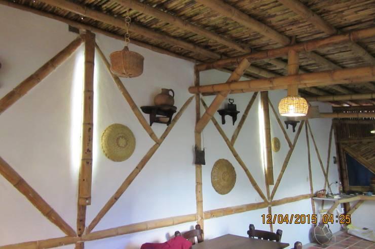 OBRA EN SOMONDOCO BOYACA :  de estilo  por GUADUA Y BAMBU COLOMBIA