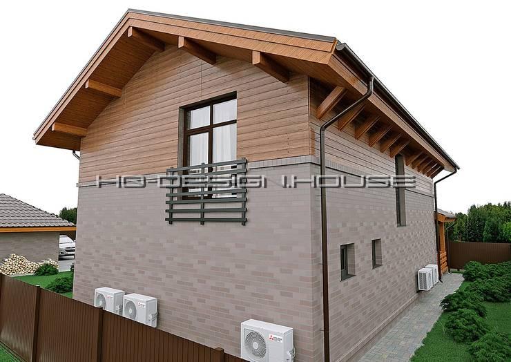 Вид 3. Задний вид дома: Дома в . Автор – hq-design