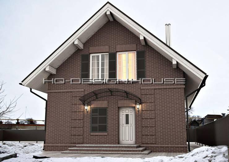 Вид 2. Экстерьер.: Дома в . Автор – hq-design