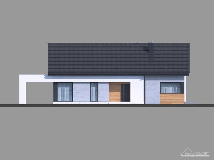 modern Houses by HomeKONCEPT   Projekty Domów Nowoczesnych