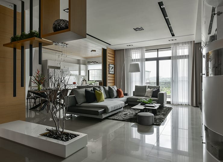 Paysagisme d'intérieur de style  par 皇室空間室內設計