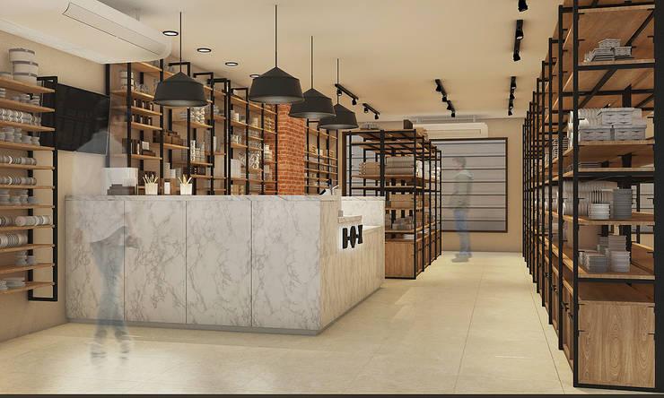 ฺB-Q-X SHOP:  Commercial Spaces by scaleup architects