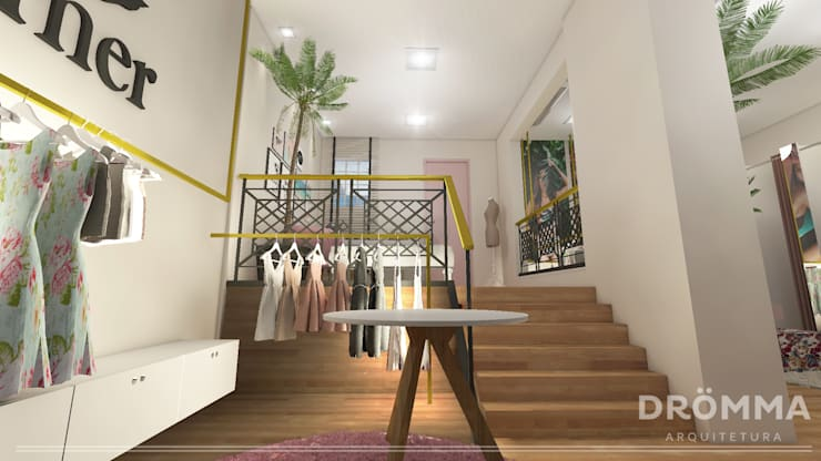 Lojas e espaços comerciais  por Drömma Arquitetura