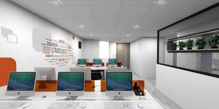 modern Study/office by Gamma
