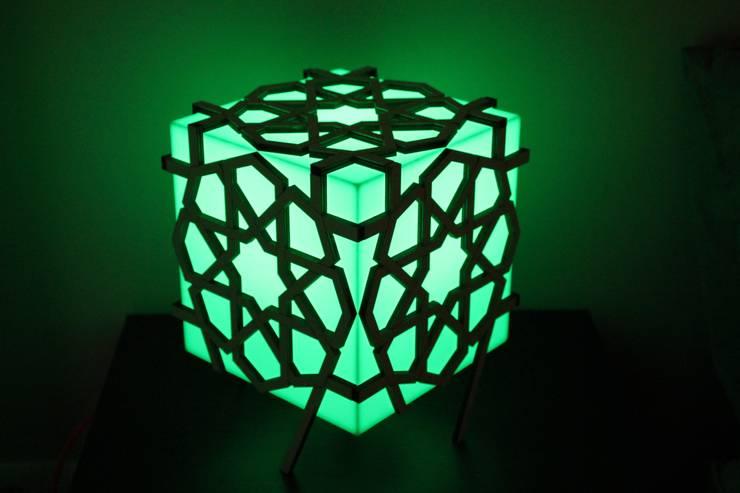 Geo Lina Lamp:  Slaapkamer door Studio Nor