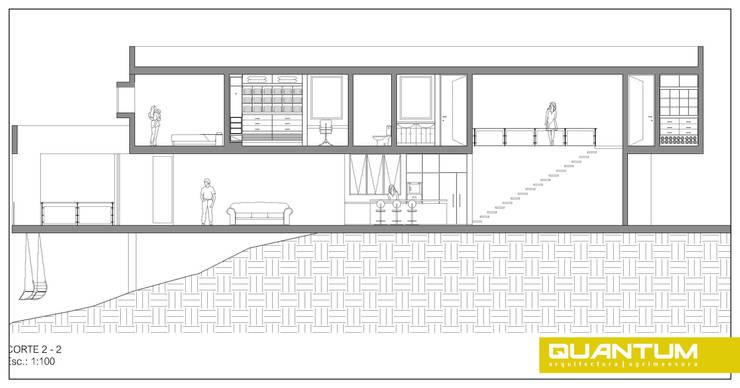 Vivienda Unifamiliar. Barrio cerrado. Sierras de Córdoba.: Casas de estilo  por Betiana Denardi   Arquitecta