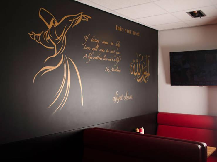Mevlana Foodcompany Utrecht:  Bars & clubs door Studio Nor