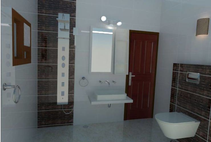 Bathroom: asian Bathroom by 4 Lotus Interior