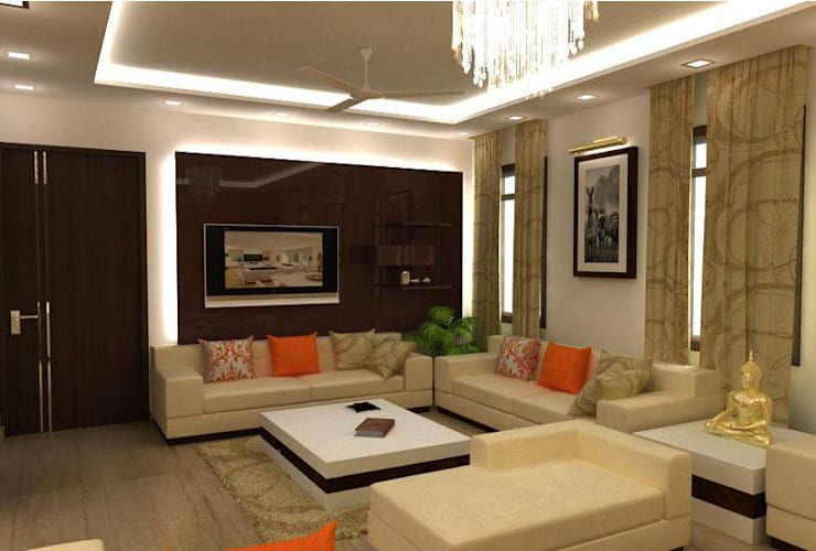 Living Room: classic Living room by 4 Lotus Interior