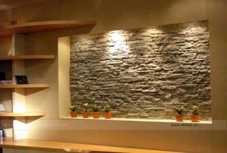 Our Exclusive Designs:  Walls by 4 Lotus Interior