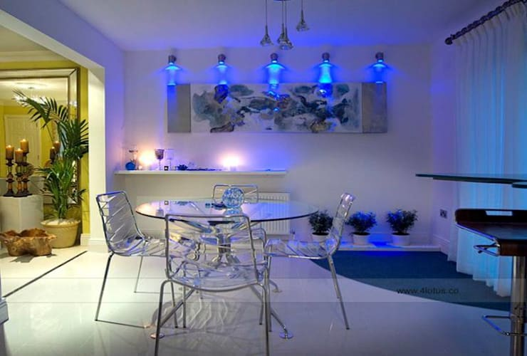 Our Exclusive Designs:  Dining room by 4 Lotus Interior