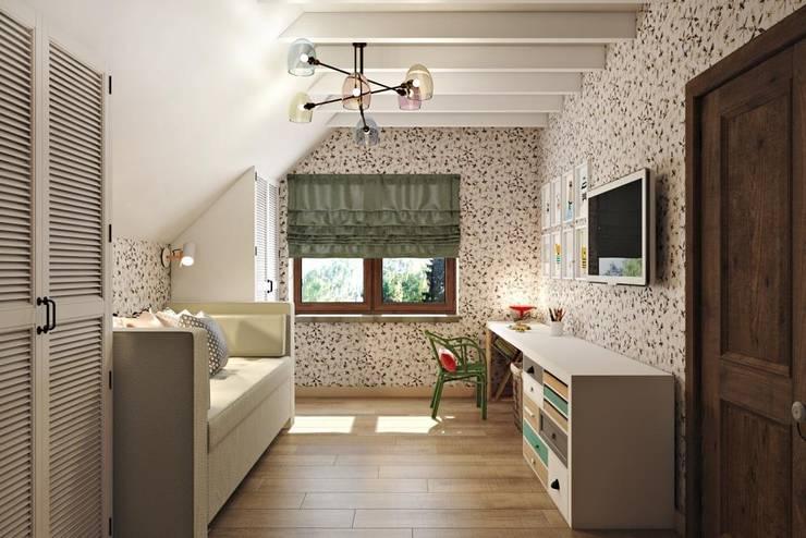 Nursery/kid's room by Дизайн студия Алёны Чекалиной