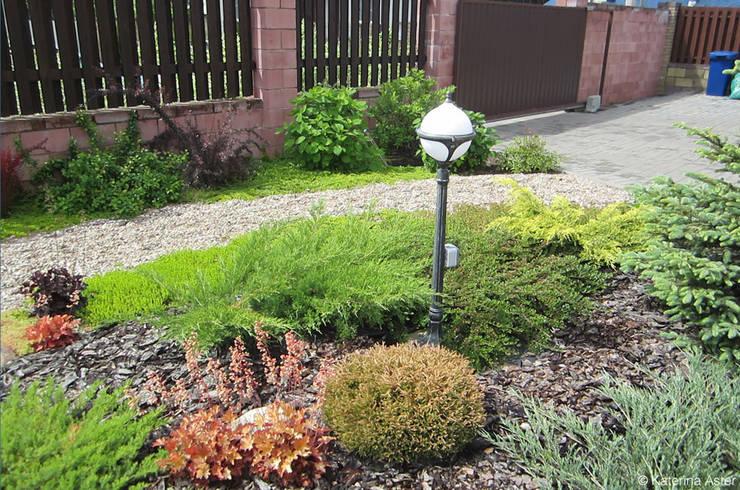 Projekty,  Ogród zaprojektowane przez Aster Garden