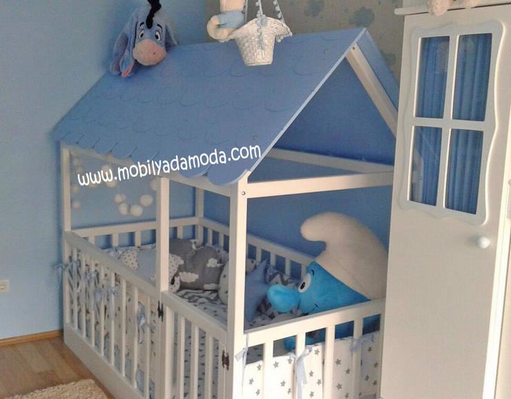 MOBİLYADA MODA  – Bebek Yer Yatağı- Oyun Parkı: modern tarz , Modern Ahşap Ahşap rengi