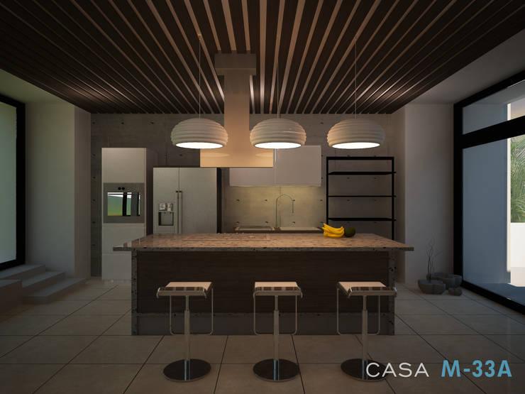 Diseño de cocina: Cocinas de estilo  por Constructora Asvial - Desarrollador Inmobiliario
