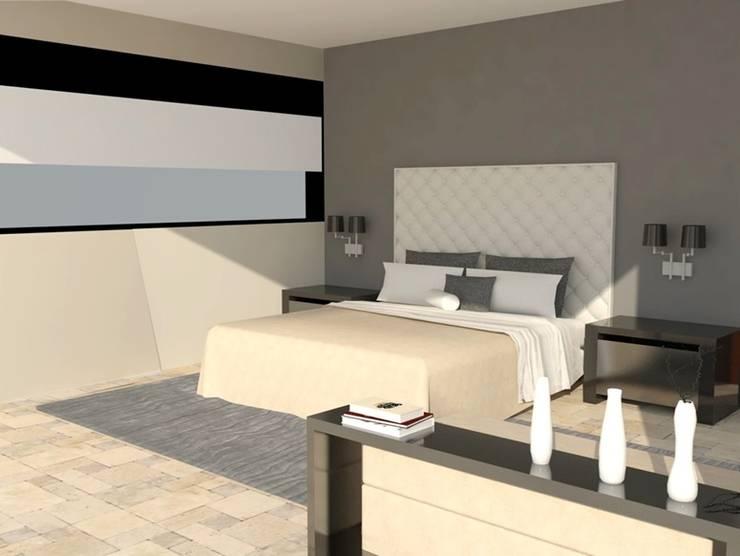 Casa Club Golf Paraiso: Casas de estilo  por LNM Arquitectura & Diseño Interior