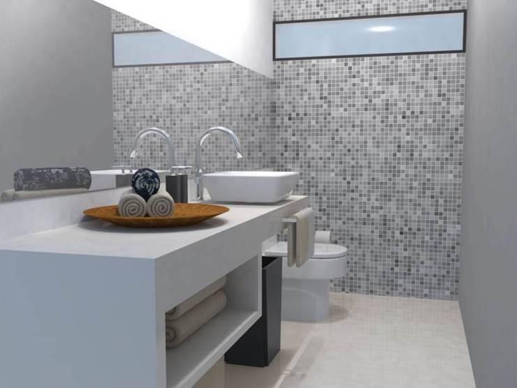 Departamento Pitagoras: Casas de estilo  por LNM Arquitectura & Diseño Interior