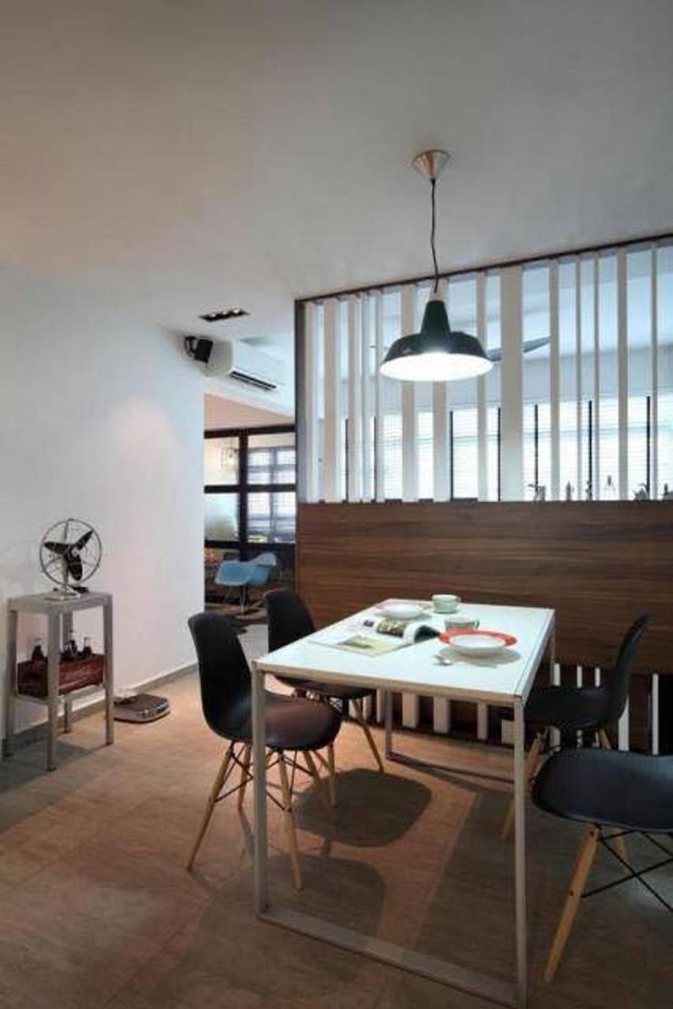 Dining room by De Reno Hom
