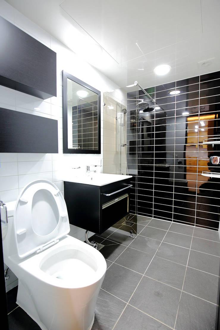 욕실: inark [인아크 건축 설계 디자인]의  욕실,