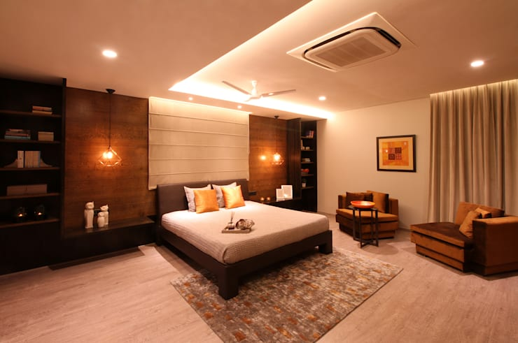 Contemporary Home design:  Bedroom by Design House