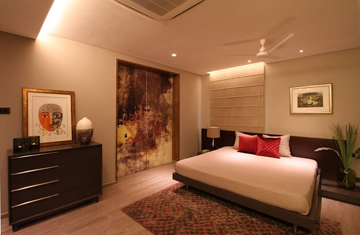 Contemporary Home design: classic Bedroom by Design House