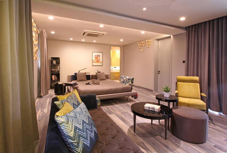 Projekty,  Sypialnia zaprojektowane przez Design House