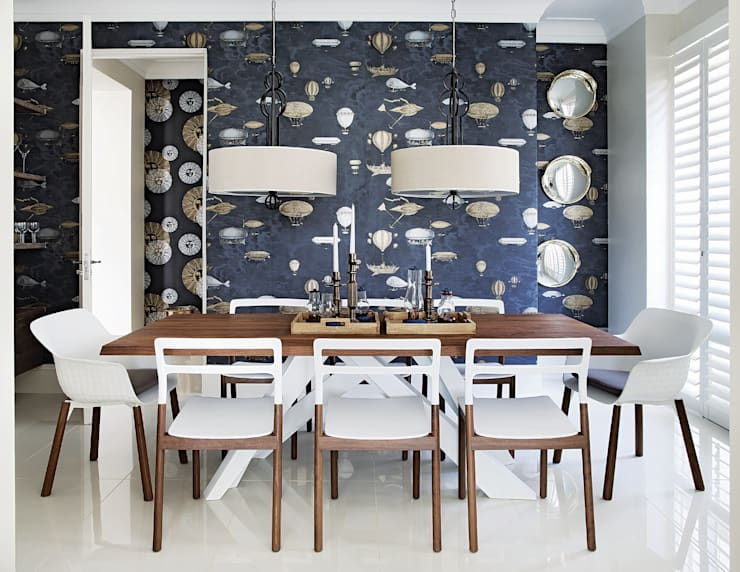 Hyde Park Elegance:  Dining room by Generation