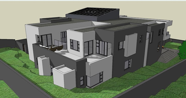 House Pandelani :   by GMB Architects