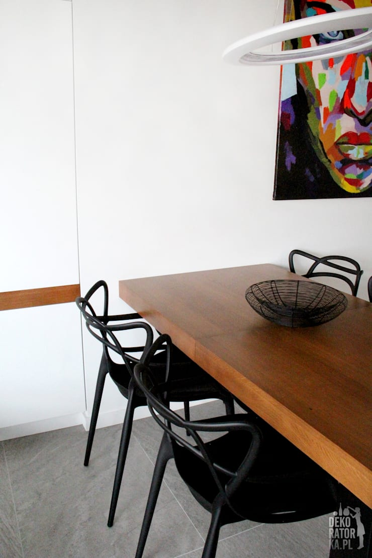Столовые комнаты в . Автор – dekoratorka.pl, Модерн