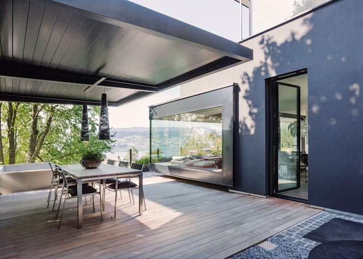 Projekty,  Taras zaprojektowane przez meier architekten