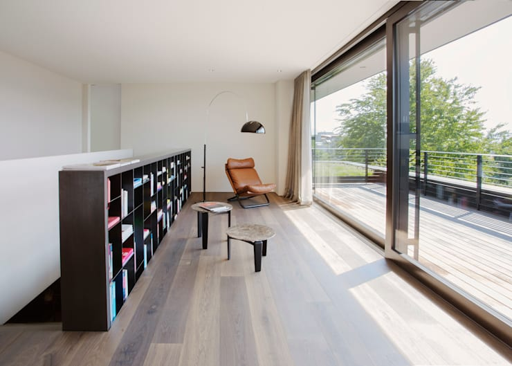 Livings de estilo moderno por meier architekten