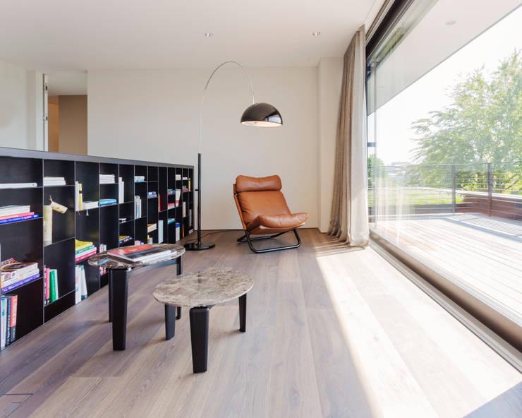 Projekty,  Salon zaprojektowane przez meier architekten