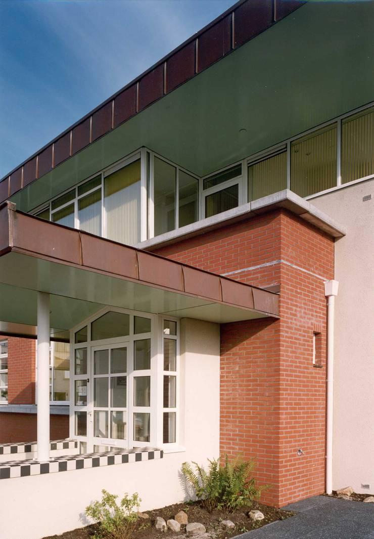 detail:  Huizen door Voets Architectuur en Stedenbouw