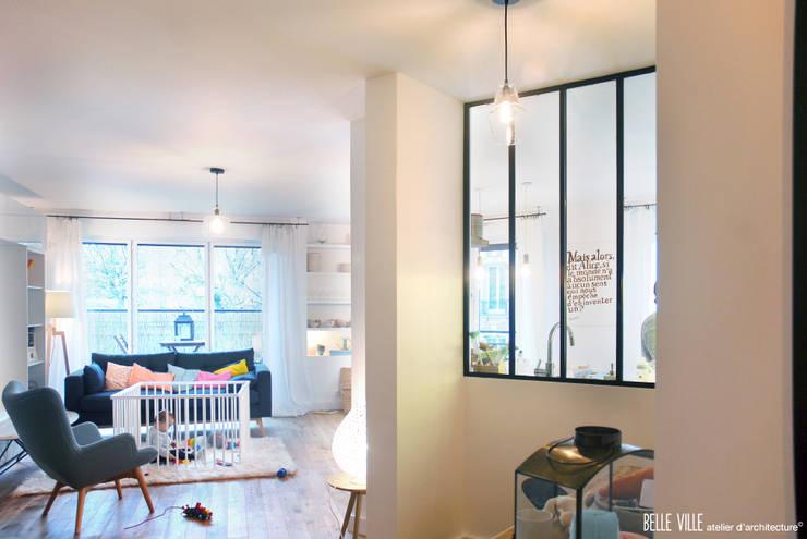 الممر والمدخل تنفيذ Belle Ville Atelier d'Architecture