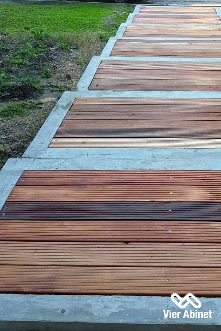 Construcción en Madera y Revestimientos: Casas de estilo  por VIER ABINET S.A. Pisos & Decks