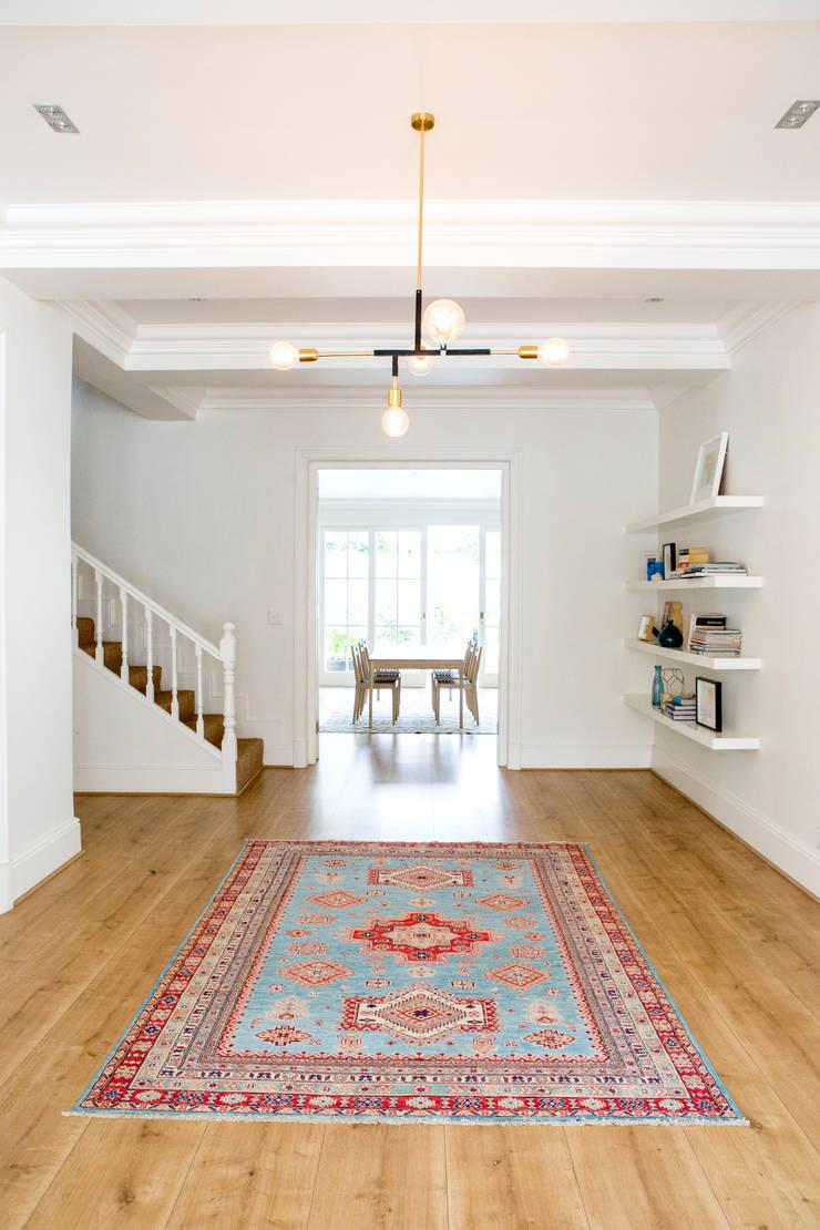 House Oranjezicht:  Corridor & hallway by ATTIK Design, Scandinavian