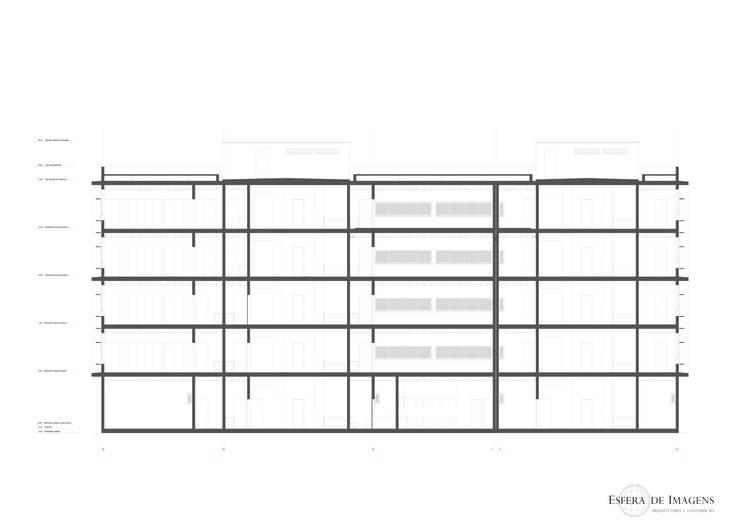 Centro de escritórios Platinum Plaza :   por Esfera de Imagens Lda