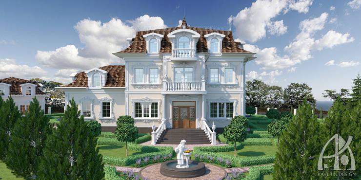 106_Белый Берег Ландшафт: Дома в . Автор – Дизайн студия Алексея Каверина