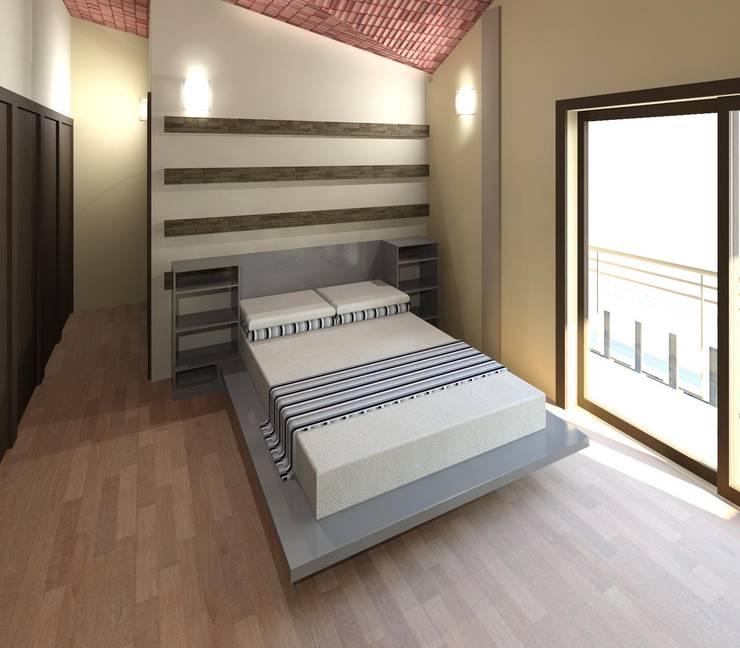 Dormitorio 01:  de estilo  por Diseño Store